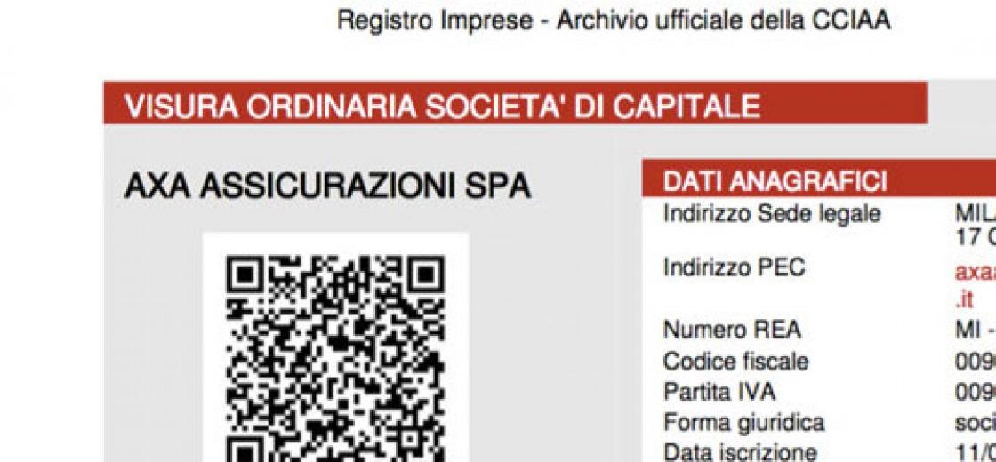 Visure camerali gratuite per i giornalisti siciliani